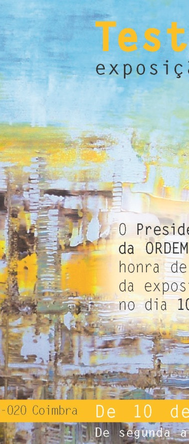 2014 | CONVITE | Exposição Individual em Coimbra | Design by Ana Vilar