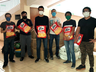 El CUCV entrega víveres para 500 familias de Villanueva