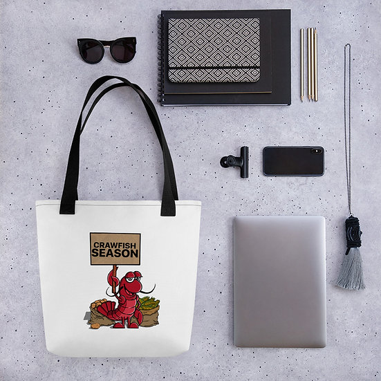 Crawfish Season Tote Bag