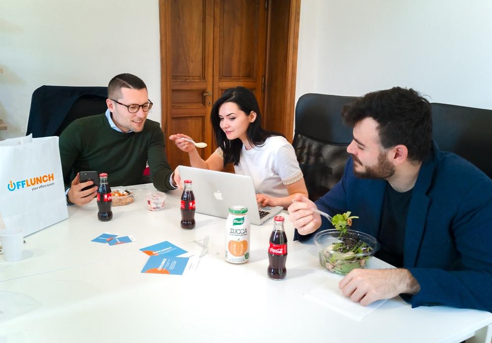 Il tuo pranzo in ufficio con OffLunch