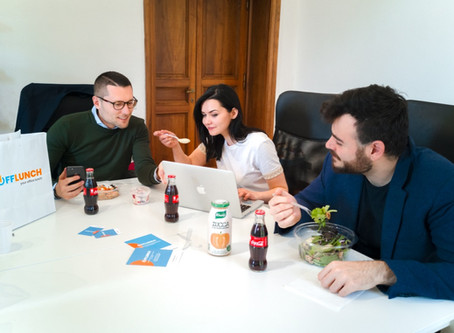 Parte da Roma OffLunch, la app che ti porta il pranzo in ufficio