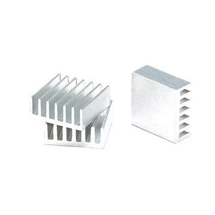 10x Радиатор алюминиевый мини 14х14х6мм