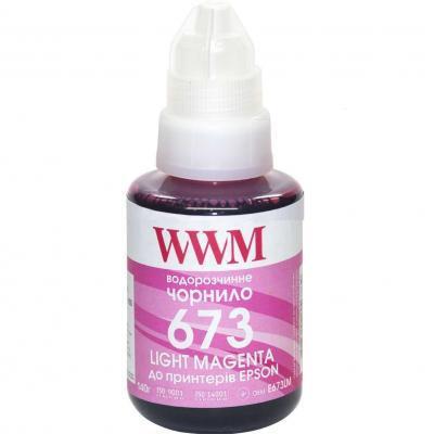 Чернила WWM Epson L800 140г Light Magenta (E673LM)