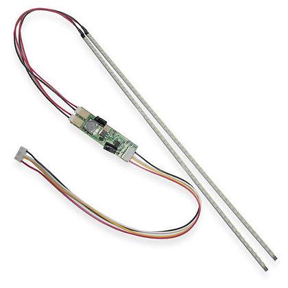2x LED лампа подсветки монитора, контроллер, до 24