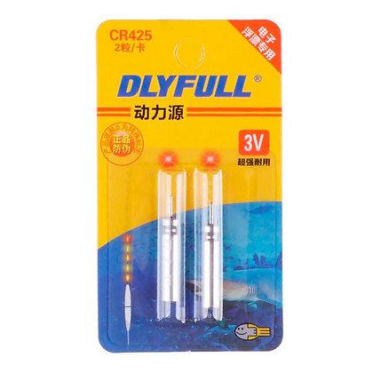 2x Батарейка CR425 3В 25мАч для светящихся LED поплавков