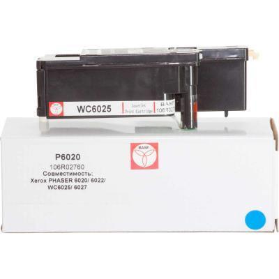 Картридж BASF для Xerox Phaser 6020/6022/WC6025/6027 Cyan (KT-106R02760)