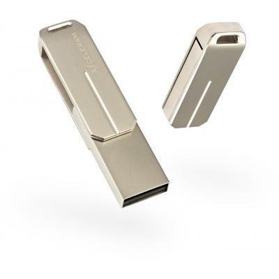 USB флеш накопитель eXceleram 32GB U3 Series Silver USB 2.0 (EXP2U2U3S32)