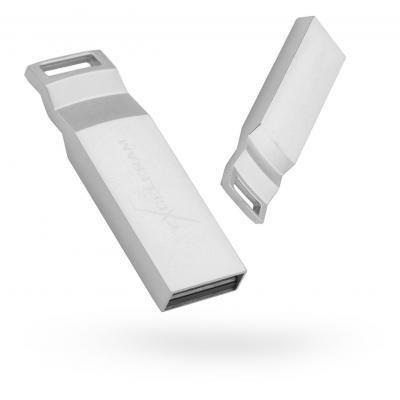 USB флеш накопитель eXceleram 64GB U2 Series Silver USB 2.0 (EXP2U2U2S64)