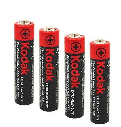 4шт батарейки мизинчиковые AAA Kodak