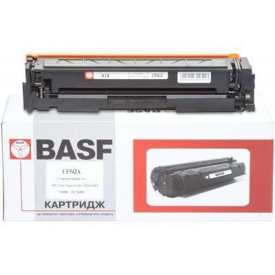 Картридж BASF для HP CLJ M280/M281/M254 Yellow (KT-CF542A)