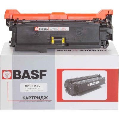 Картридж BASF для HP CLJ CM3530/CP3525 аналог CE252A Yellow (KT-CE252A)