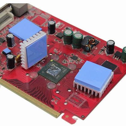 10шт Термопрокладка под радиатор 15х15х1мм силикон