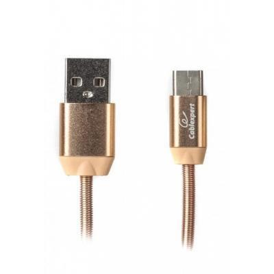 Дата кабель USB 2.0 AM to Type-C 1.0m Cablexpert (CCPB-C-USB-08G)