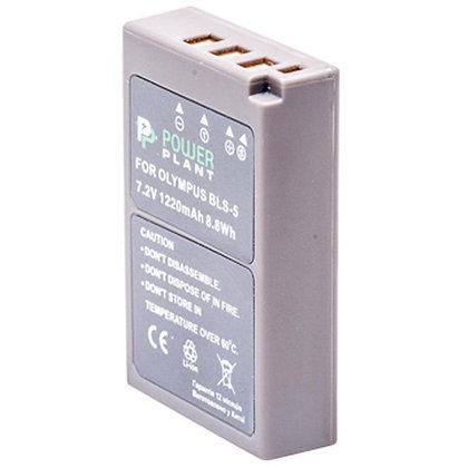 Аккумулятор к фото/видео PowerPlant Olympus PS-BLS5 (DV00DV1287)
