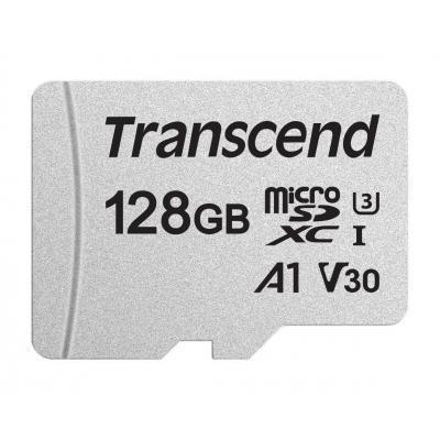 Карта памяти Transcend 128GB microSDXC class 10 UHS-I U3 A1 (TS128GUSD300S)