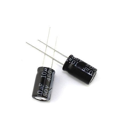 10x Конденсатор электролитический алюминиевый 47мкФ 16В 105С