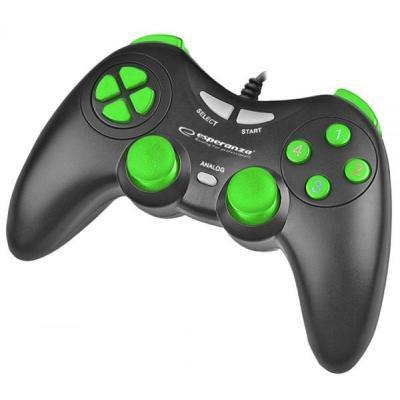 Геймпад Esperanza Fighter PC Black-Green (EGG105KG)