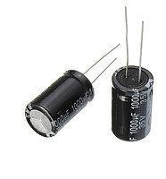 10x Конденсатор электролитический алюминиевый 1000мкФ 35В 105С