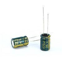 10x Конденсатор электролитический алюминиевый 470мкФ 25В 105С