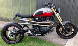 My bike, isn't she sweet?