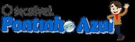 Logo O Incrível Pontinho Azul