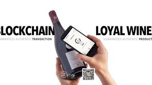 Blockchain guarantees authentic transaction / Loyal Wines guarantees authentic product