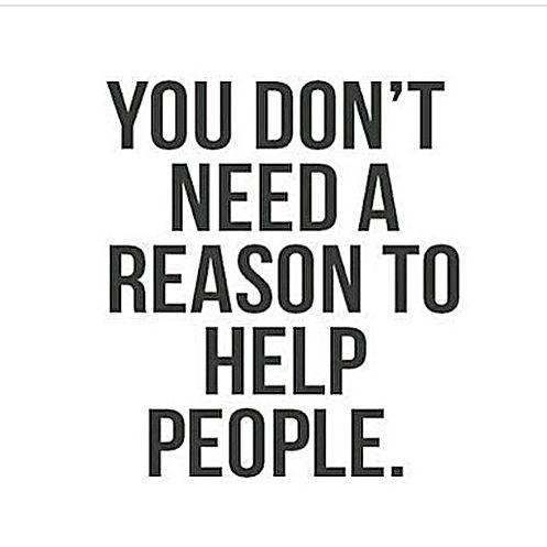 Helping others brings joy