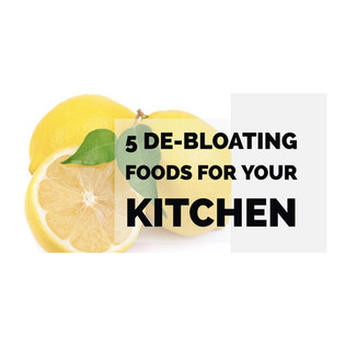 5 De Bloating Foods For Your Kitchen