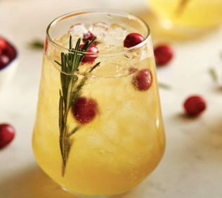Holiday Cocktails Minus the Calories