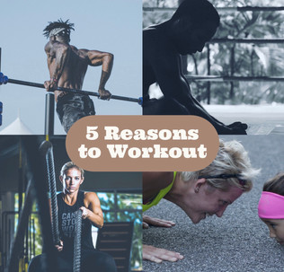 So You Hate Working Out...?                               Here's 5 Reasons to Start