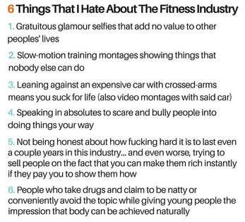 Where Has Fitness Gone? : 6 Things That Suck About the Fitness Industry