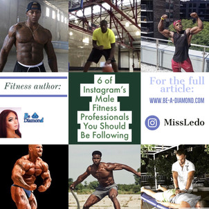 6 of Instagram's Male Fitness Professionals You Should Be Following
