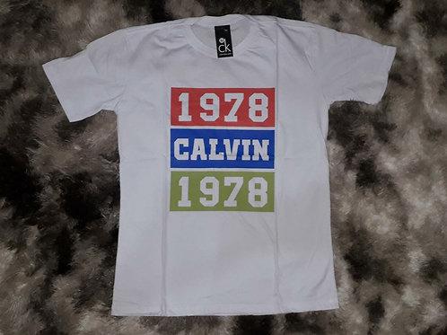 camiseta CALVIN KLEIN branca M