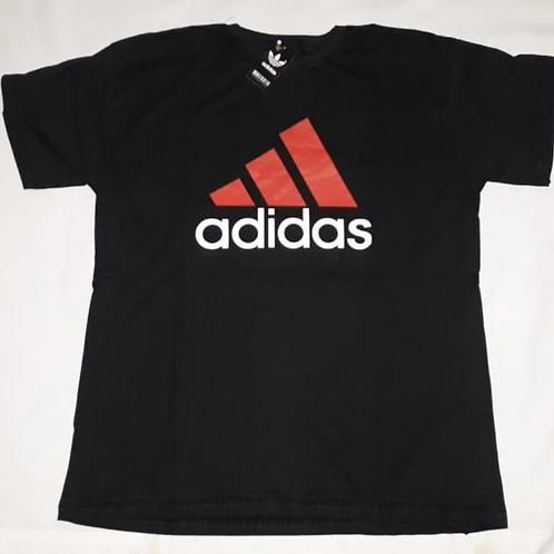 camiseta estampa adidas