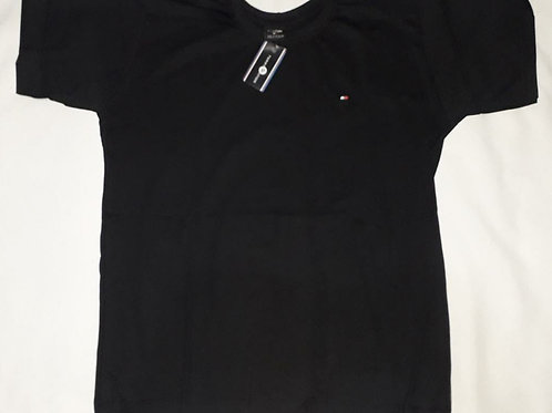 camiseta TOMMY preta