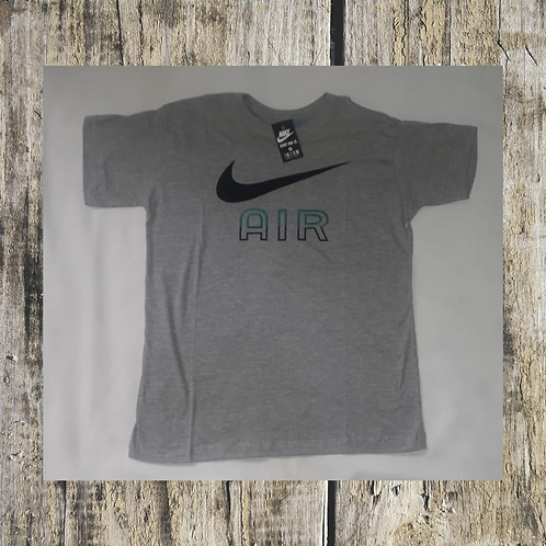 camiseta NIKE AIR cinza P