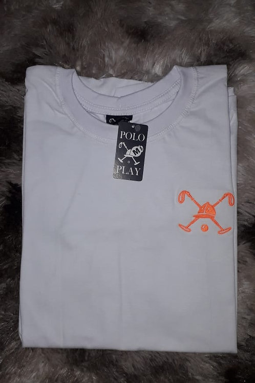 camiseta POLO PLAY bordada