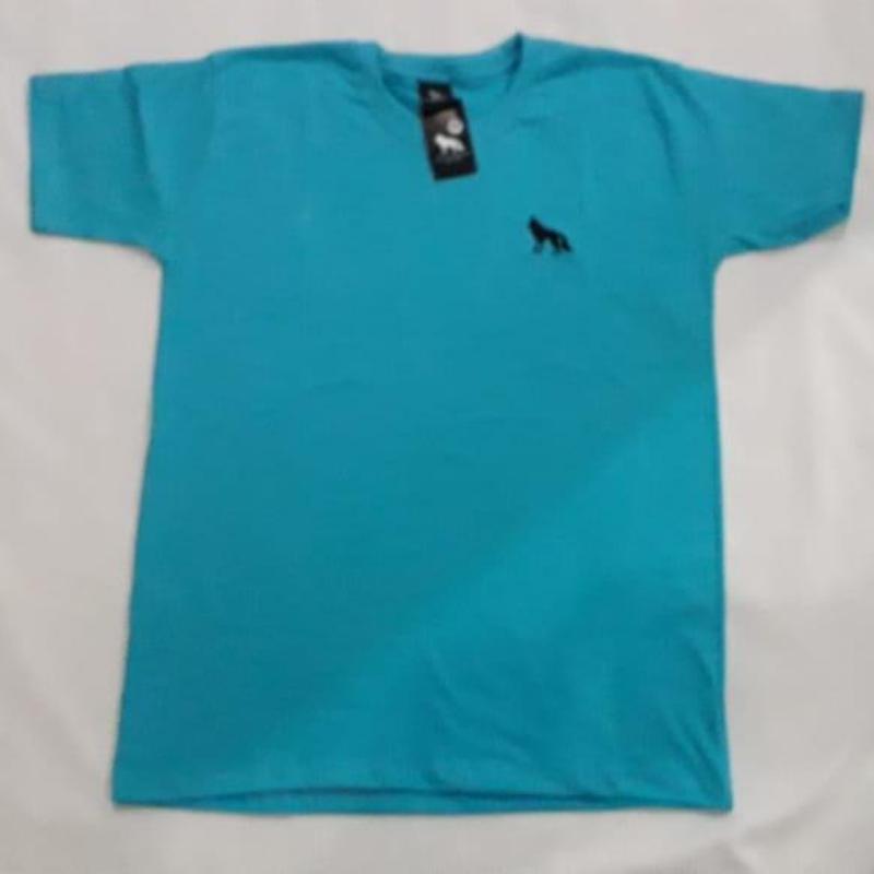 camiseta lisa azul