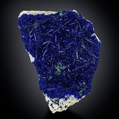 Azurite with Malachite - Tsumeb Mine, Namibia
