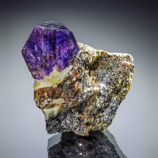 Sapphire - Zazafotsy Quarry, Madagascar.