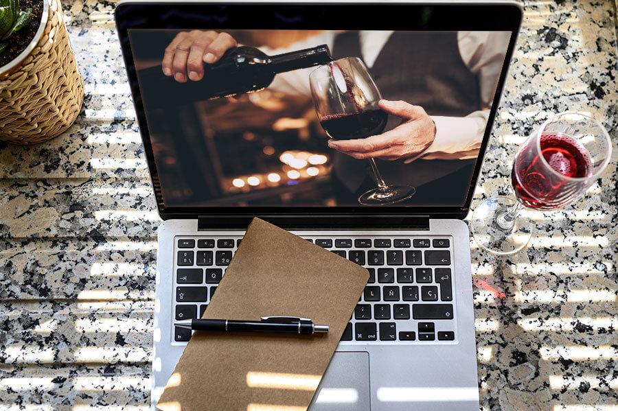Online vyno degustacija kolektyvams