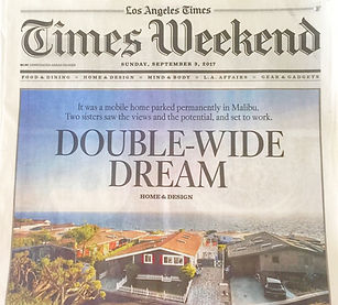 LA Times, Tessa Hendrie, Alyssa Hendrie, Bitchin' Digs
