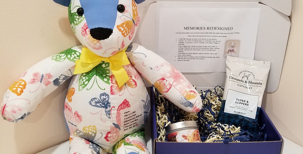 Memory Gift Box with Teddy or Bunny
