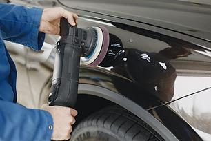 paint correction, paint buffing, car polishing, machine polish