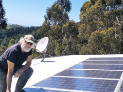 Peter and Helen pioneered solar
