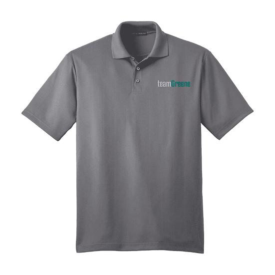 Team Greene Men's Moisture Wicking Polo