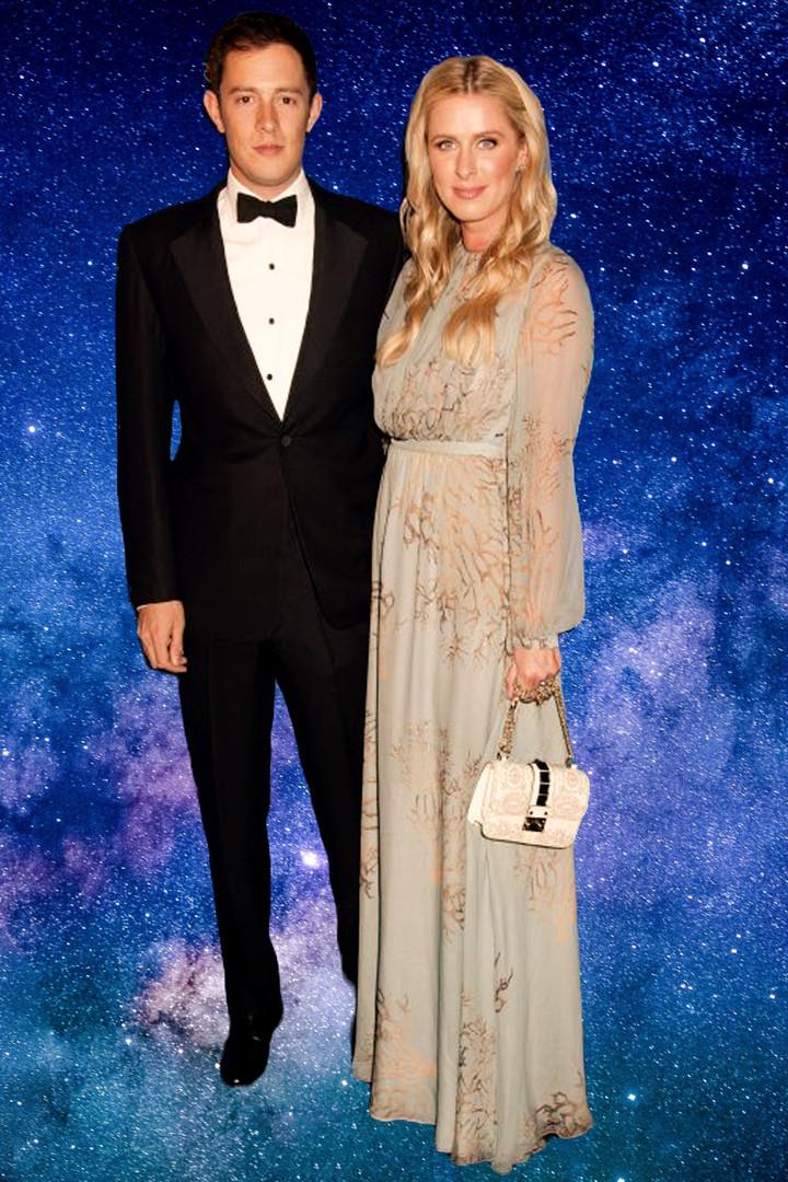 James Rothschild & Wife Nicky Hilton