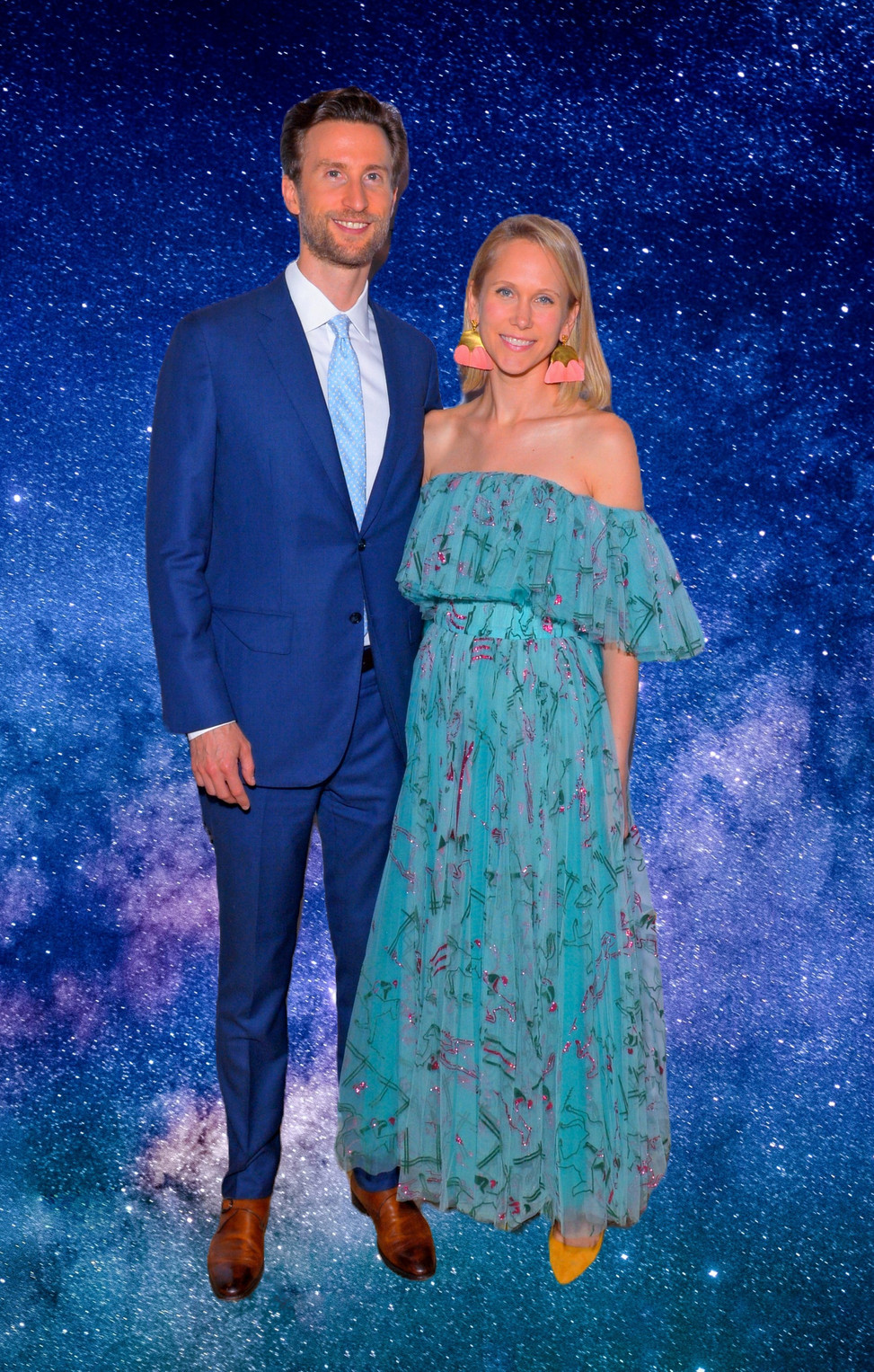 Justin Rockefeller and wife