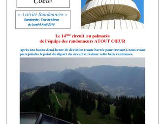 HIRSINGUE : rando TOUR DE MORON
