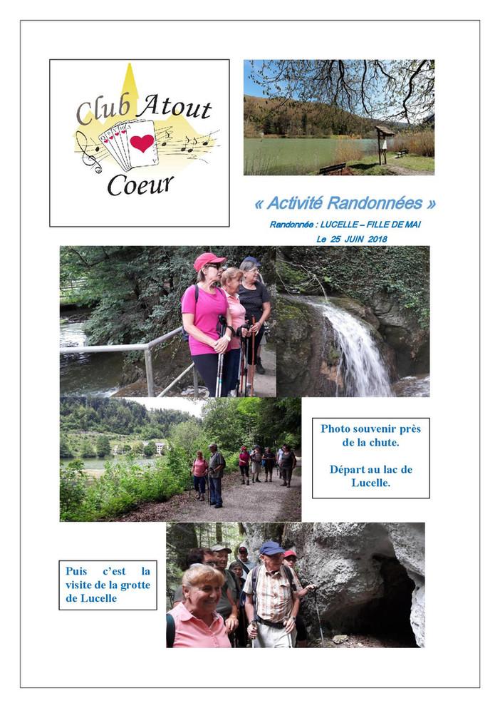 HIRSINGUE : rando Lucelle - Fille de Mai (2h47 - 9,52 Km)